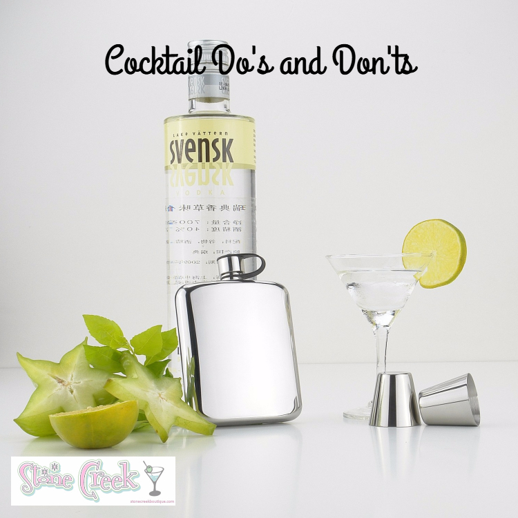 Cocktail Do's and Don'ts
