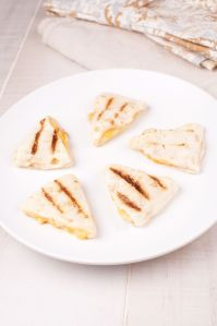 16820510 - mini quesadilla triangles with cheese